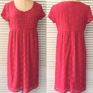 Laundry by Design Women's Red Dress